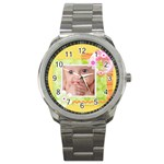 baby watch - Sport Metal Watch