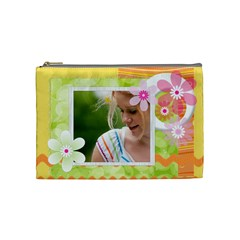 Flower Bag By Joely   Cosmetic Bag (medium)   Ubtnnns1206e   Www Artscow Com Front