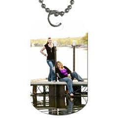 Bff  By Jessica Sell   Dog Tag (two Sides)   9pmtoatz3t5m   Www Artscow Com Front