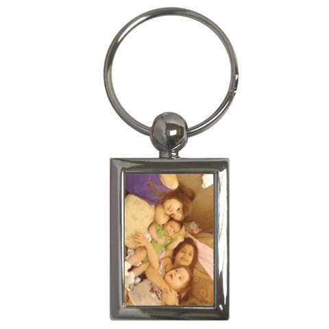 Kiddos By Amy Romero   Key Chain (rectangle)   8cs2flca20wf   Www Artscow Com Front