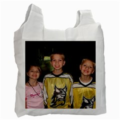 Recycled 2 Sided Bag By Kathleen   Recycle Bag (two Side)   9uh1fgj8n2ry   Www Artscow Com Front
