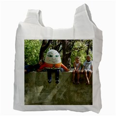 Recycled 2 Sided Bag By Kathleen   Recycle Bag (two Side)   9uh1fgj8n2ry   Www Artscow Com Back