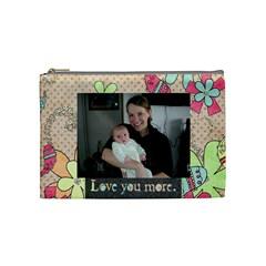 Becky By Jessica Rudnitzki   Cosmetic Bag (medium)   Z1ltwv21v5fm   Www Artscow Com Front