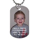 Lance s Dog Tag - Dog Tag (Two Sides)