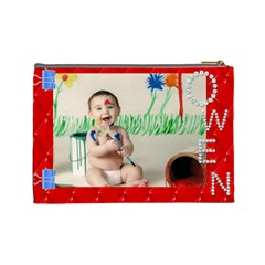 Mommy Bag By Aimee   Cosmetic Bag (large)   Mwxa695o0csf   Www Artscow Com Back