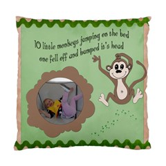 Monkeypillow By Jen   Standard Cushion Case (two Sides)   25hd46zg1c72   Www Artscow Com Front