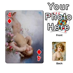 Dogs, Cats And Children By Helen Norton By Helen   Playing Cards 54 Designs   Jiv7hindenbs   Www Artscow Com Front - Diamond4
