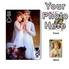 Dogs, Cats And Children By Helen Norton By Helen   Playing Cards 54 Designs   Jiv7hindenbs   Www Artscow Com Front - Spade5