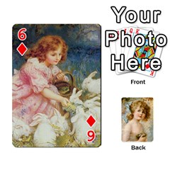 Dogs, Cats And Children By Helen Norton By Helen   Playing Cards 54 Designs   Jiv7hindenbs   Www Artscow Com Front - Diamond6