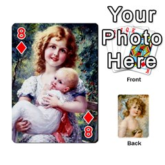 Dogs, Cats And Children By Helen Norton By Helen   Playing Cards 54 Designs   Jiv7hindenbs   Www Artscow Com Front - Diamond8