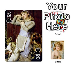 Dogs, Cats And Children By Helen Norton By Helen   Playing Cards 54 Designs   Jiv7hindenbs   Www Artscow Com Front - Club2