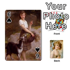 Dogs, Cats And Children By Helen Norton By Helen   Playing Cards 54 Designs   Jiv7hindenbs   Www Artscow Com Front - Spade6