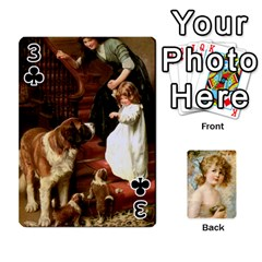 Dogs, Cats And Children By Helen Norton By Helen   Playing Cards 54 Designs   Jiv7hindenbs   Www Artscow Com Front - Club3