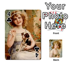 Dogs, Cats And Children By Helen Norton By Helen   Playing Cards 54 Designs   Jiv7hindenbs   Www Artscow Com Front - Club4