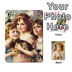 Dogs, Cats And Children By Helen Norton By Helen   Playing Cards 54 Designs   Jiv7hindenbs   Www Artscow Com Front - Club6
