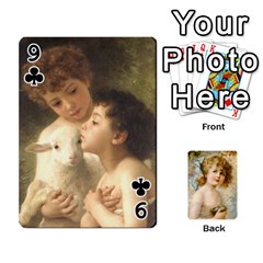 Dogs, Cats And Children By Helen Norton By Helen   Playing Cards 54 Designs   Jiv7hindenbs   Www Artscow Com Front - Club9