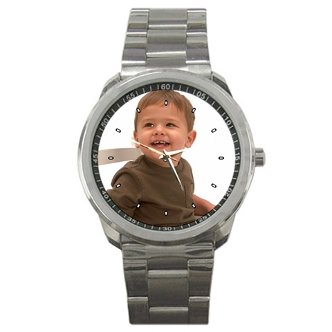 Brody Watch For Grandpa By Marlene S Jerome   Sport Metal Watch   75qwdwqufef9   Www Artscow Com Front