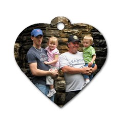 Heart Dogtag By Faith Hale   Dog Tag Heart (two Sides)   Q1lg57ebjjq6   Www Artscow Com Front