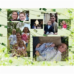 Brown Family Calendar By Shelly   Wall Calendar 11  X 8 5  (12 Months)   Gyxbncz1d6um   Www Artscow Com Month