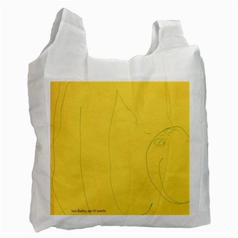 Sara s Artwork By Heather C   Recycle Bag (one Side)   A5f8m2p9hyw5   Www Artscow Com Front
