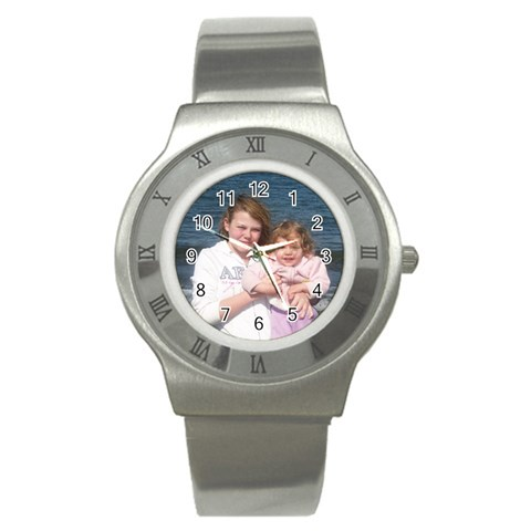 By Amy Merrill   Stainless Steel Watch   076t0tc2ctzk   Www Artscow Com Front