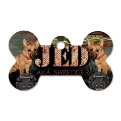 Jedtag By Lily Hamilton   Dog Tag Bone (two Sides)   Giax5pl3h3i2   Www Artscow Com Front