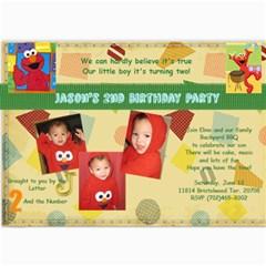 Birthday 2 By Jackie Romero   5  X 7  Photo Cards   Iq622syxb10z   Www Artscow Com 7 x5  Photo Card - 4