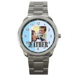 father gift - Sport Metal Watch