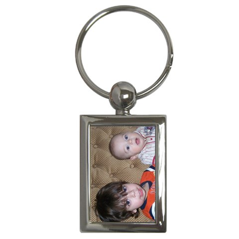 Jaden & Isaiah Keychain By Kathryn Holderman   Key Chain (rectangle)   Gvip2dnkuven   Www Artscow Com Front