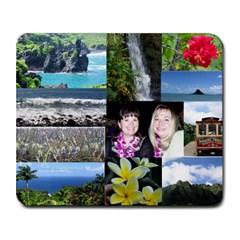 Hawaii With Amy By Carol Miller   Collage Mousepad   M85zrkvh9u6v   Www Artscow Com 9.25 x7.75 Mousepad - 1
