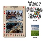 Up Front Action Deck 109-162 - Playing Cards 54 Designs