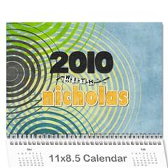 2010 Calendar By Mari   Wall Calendar 11  X 8 5  (12 Months)   N6lgbdz6ic5x   Www Artscow Com Cover