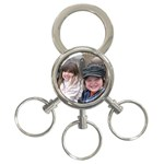 Keychain for Dad & Kol - 3-Ring Key Chain