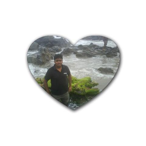 Coaster By Venkata Karthik   Rubber Coaster (heart)   Rtdxdmod4nqx   Www Artscow Com Front