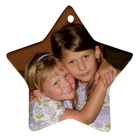 Great Christmas Gifts By Jennifer Yowell   Ornament (star)   Utrf2obiytjy   Www Artscow Com Front