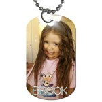 brook - Dog Tag (One Side)