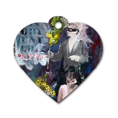 By Jessica   Dog Tag Heart (one Side)   Krmarp2m1t0a   Www Artscow Com Front