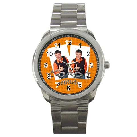 Dad By Wood Johnson   Sport Metal Watch   Ynuke9un97a7   Www Artscow Com Front