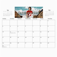 2010 Calendar By Anna Marie   Wall Calendar 11  X 8 5  (12 Months)   Tdugng6b3tzm   Www Artscow Com Oct 2010