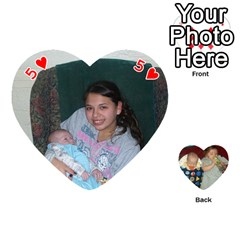 Heart Of Cards By Tonya Smith   Playing Cards 54 (heart)   Mf25izmkp5rr   Www Artscow Com Front - Heart5