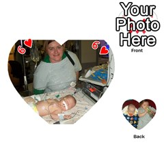 Heart Of Cards By Tonya Smith   Playing Cards 54 (heart)   Mf25izmkp5rr   Www Artscow Com Front - Heart6