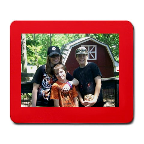 Kids At Wilson s By Lori J  Marple   Large Mousepad   0bfzsfz2tysa   Www Artscow Com Front