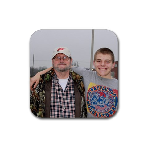 Keith&charley By Tbeckys Hotmail Comckys Hotmail Com   Rubber Coaster (square)   73955g9pgbyy   Www Artscow Com Front