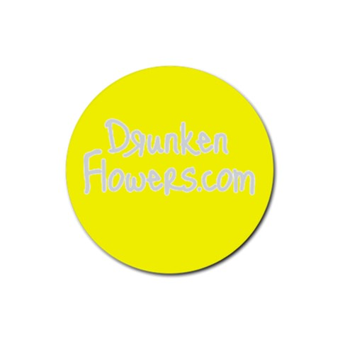 Df Yellow Logo   Coaster By Zre   Rubber Coaster (round)   Nyqz2uzfv4tw   Www Artscow Com Front
