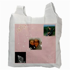 Reusuable Bag Jenny By Carol Miller   Recycle Bag (two Side)   K0g7hcq95avl   Www Artscow Com Back