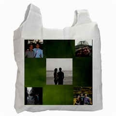 Reusable Bag Zach By Carol Miller   Recycle Bag (two Side)   O26byi8q264m   Www Artscow Com Front