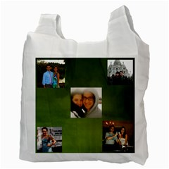 Reusable Bag Zach By Carol Miller   Recycle Bag (two Side)   O26byi8q264m   Www Artscow Com Back