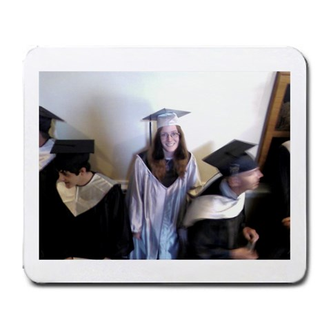 Graduation Mousepad By Karie   Large Mousepad   P6wz5jdkibn2   Www Artscow Com Front