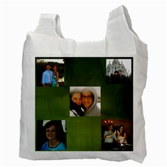 Reusable Bag Zach By Carol Miller   Recycle Bag (two Side)   N2g4u8kyb96o   Www Artscow Com Back