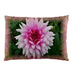 dahlia pillow case